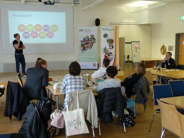 Workshop Finanzbildung digital. Foto: NUA NRW