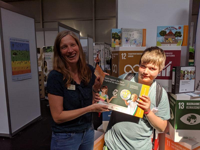 Tombola Gewinner aus NRW. Foto: NUA
